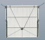 The canopy garage door is the most common and simplest type of garage door mechanism. The name derived from the fully opened garage door panel protruding ... & Up and Over Garage Door